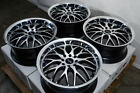 17 Wheels Honda Accord Civic Corolla Cr Z Prelude Lancer Scion xD xB Black Rims