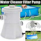 Electric Filter Pump Swimming Pool for Above Ground Pools Water Circulating Tool
