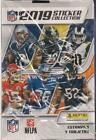 2019 Panini NFL Football Factory Sealed Sticker Collection Box 50 Packs