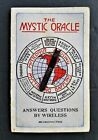 1923 antique RARE KIMBALL Piano Phonographs MYSTIC ORACLE ad trade card spinner