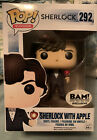 Funko Pop # 292 Sherlock Holmes With Apple Pop Protector Vaulted Bam Exclusive