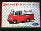 Snap On Tools 1950 Ford Stepvan Diecast 1 24 Bank Brand New Hard To Find