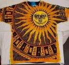 Brand New Liquid Blue Sun Moon Tie Dye T shirt Size XXL