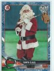 2018 Topps Holiday Bowman Santa Clause White Snow SP 2 50 - North Pole