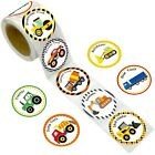Fancy Land Truck Stickers Perforated 200PCS 1 Roll for Construction Car Birth