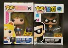 Funko Pop! HT Exclusive Sailor Moon & Robin w Pop Protector