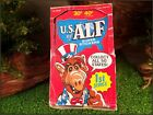 1987 U.S.OF ALF SUPER STICKERS 1 BOX OF 45 SEALED PACKETS 1ST SERIES