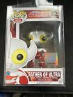 Funko Pop! Asia Ultraman Father of Ultra Poplife Exclusive Vaulted In Protector
