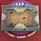 2014 Exquisite Football Sealed Hobby Box