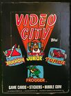 Vintage 1983 Topps Video City Trading Cards & Stickers, Full Box [36ct], No