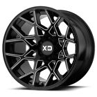 20 Inch Black Wheels Rims LIFTED Toyota Tacoma 4Runner Truck XD Chopstick 6 Lug