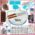 150 PCs Cake Decorating Supplies Kit for Beginners 1 Turntable stand 48