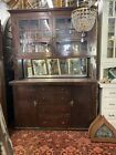 Old 1920s Arts And Crafts Craftsman Style Origin Built In Cabinet 61x86x19