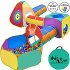 Gift for Toddler Boys  Girls Ball Pit Play Tent and Tunnels for Kids Best Birth