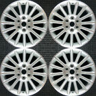Buick Enclave Machined 19 OEM Wheel Set 2008 to 2012