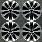 Nissan Sentra Machined w Charcoal Pockets 17 OEM Wheel Set 2015 to 2016