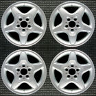 Mercedes Benz ML Class All Silver 16 OEM Wheel Set 1998 to 2001