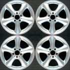 Mercedes Benz C230 Hyper Silver 17 OEM Wheel Set 2003 to 2006