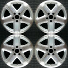 Acura CL Machined w Silver Pockets 17 OEM Wheel Set 2001 to 2002