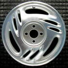 Saturn SC1 Machined w Silver Pockets 15 inch OEM Wheel 1997 to 1999