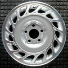 Saturn L100 Machined w Silver Pockets 15 inch OEM Wheel 2000 to 2002
