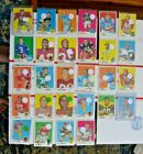 1969 Topps Football Card Lot 28 Vintage Cards - Solid Condition - Free Shipping