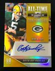 2018 Optic Contenders Paul Hornung All Time GOLD # 10 Auto Packers Autograph