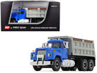 Mack R Dump Truck Blue Gray 164 Scale Collectible Diecast First Gear 60 0580