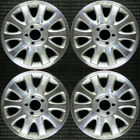 Chrysler Town and Country Machined 16 OEM Wheel Set 2001 to 2003