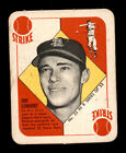 1951 Topps Blue Backs Baseball Cards 52