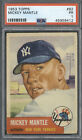 Ultimate Guide to 1950s Mickey Mantle Topps and Bowman Cards 35