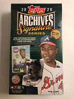 2020 Topps Archives Signature Series Retired Sealed Hobby Box - 1 Card Auto Per