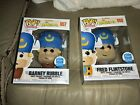 Fred Flintstone Barney Rubble Funko Pop Shop Exclusive 2pack Very nice boxes