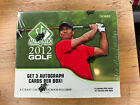 2012 SP AUTHENTIC GOLF SEALED HOBBY BOX - FIND TIGER WOODS AND MICHAEL JORDAN