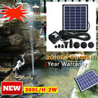 Solar Power Panel Submersible Fountain Pond Water Pump Garden Pool Watering Kits