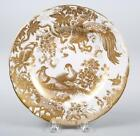 GOLD AVES by Royal Crown Derby 8 1 2 Salad Plate MINT