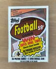 Visual History to Topps Vintage Football Wrappers: 1950 -1980 37