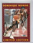 Dominique Wilkins 1991-1992 Fleer Signature Autograph AUTO w Stamp COA *HAWKS*
