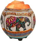 Himalayan Salt Crystals and Rocks Lamp and Oil Diffuser Elephant Free shipping