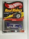 2004 Hot Wheels CollectorsCom Real Riders Series 4 VW Bus on Card 5382 11000
