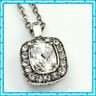 Brighton Reina Short Clear Pendant Necklace NWT 58