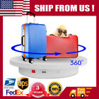 360 Electric Motorized Rotating Turntable Display Stand Remote Control Speed US