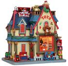 LEMAX Holiday House Village - THE TOY BOX w/InsideScene Light-Up