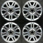 Lincoln LS Machined w Silver Pockets 17 OEM Wheel Set 2003 to 2005