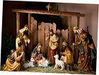 7x5ft Full Size Nativity Scene Backdrop Christmas Background for Photography Re