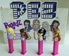 PEZ CANDY DISPENSER BRATZ JADE SASHA CLOE & YASMINE SET TM & MGA