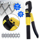 10 Ton Hydraulic Wire Battery Cable Lug Terminal Crimper Crimping Tool + 9 Dies