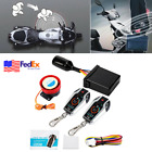2 way Motorcycle Moped Scooter Anti theft Alarm Security System Remote Start 12V
