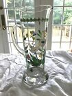 Portmeirion Hand Painted Glass Martini Pitcher