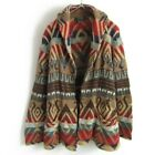 Ralph Lauren Native Pattern Shawl Color Cardigan Mens S Gown Good Condition